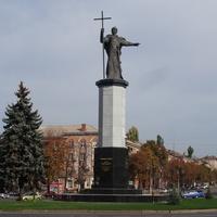 Площадь Александра Поля. Памятник Владимиру Великому