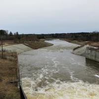 Водосброс Киселёвского водохранилища на реке Какве