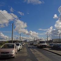 Улица Михаила Дудина