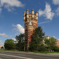 Водонапорная (Пристрельная) башня