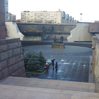 Монумент Защитникам Ленинграда.Фрагмент.
