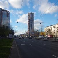 Ленинский проспект.