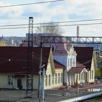 Вокзал станции Серов
