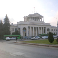 Здание аэропорта Минск-1