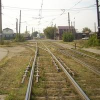 Путевое развитие трамвая на станции «Улица 11-я Ремесленная»