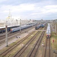 Станция Брест-Центральный.