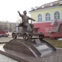 Памятник марийскому артисту и поэту Йывану Кырла (К. Иванову)