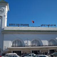 Вокзал на станции Casablanca Voyageurs (Касабланка-Пассажирская)