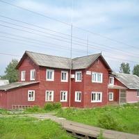 Здание станции Вохтога II (управление Монзенской железной дороги)