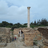 Руины Римских терм императора Антония Пия