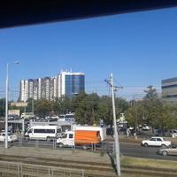 г.Краснодар из окна поезда
