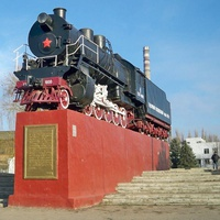 Паровоз-памятник СО17-1000