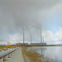 Водохранилище и Рефтинская ГРЭС