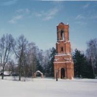 Зимняя панорама села Шатур