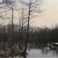 Разлив реки Поля в селе Шатур. Май 1994г.