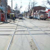 Центральный трамвайный перекрёсток