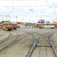 Развилка на улице Каляева