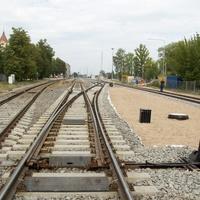 Железнодорожные пути на станции