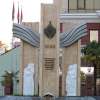 Памятник сотрудникам милиции