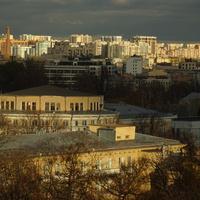Вид на Петербург