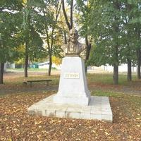 Памятник Ленину у вокзала