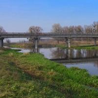 Міст через Тясмин.