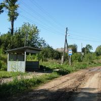 Автобусная остановка в д.Мазары