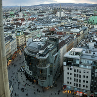Панорама города
