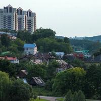 Левобережная часть города