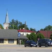 Площадь перед автостанцией
