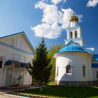 """Церковь в честь иконы """"Неупиваемая чаша"""" у подножия Царёва кургана"""