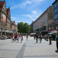 Пешеходная улица Нойхаузер штрассе