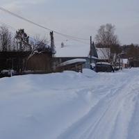 Деревня Ерёмино,февраль 2018 года.