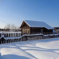 Деревня Ерёмино. Дом.