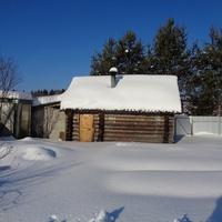 Деревня Ерёмино. Баня.