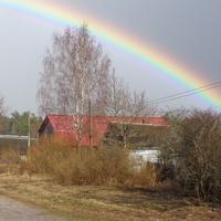 Деревня Ерёмино.Радуга.