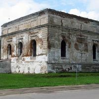 Синагога – памятник архитектуры позднего ренессанса (XVII в.)