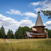 Георгиевская церковь из села Вершина