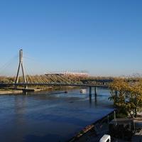 Варшава, мост через Вислу