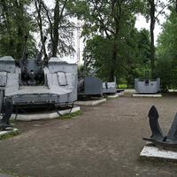 Выставка корабельных орудий