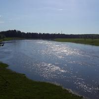 Река Пижма.с.Замежная