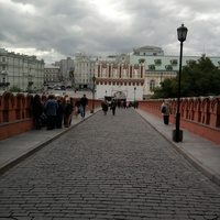 Москва Кутафья башня