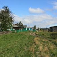 Дорога к центру села