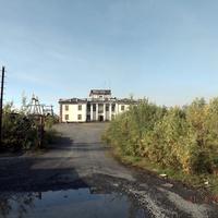 Посёлок Валёк. Некогда школа.