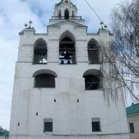 Звонница с церковью Богоматери Печерской Спасо-Преображенского монастыря