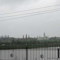 Чернореченское водохранилище и мечеть