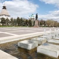 Кремль и памтяник Ленину