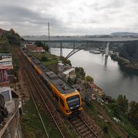 Мост к городу-спутнику Вила-Нова-де-Гайа
