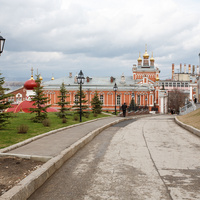 Территория Иверского монастыря