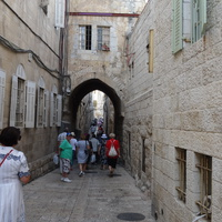Улица старого Иерусалима
